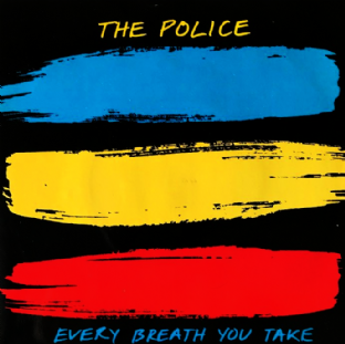 "Police (The) ‎- Every Breath You Take (7"") (EX-/VG)"